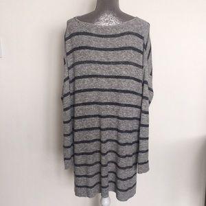 Free People Sweaters - Free People Grey oversized sweater